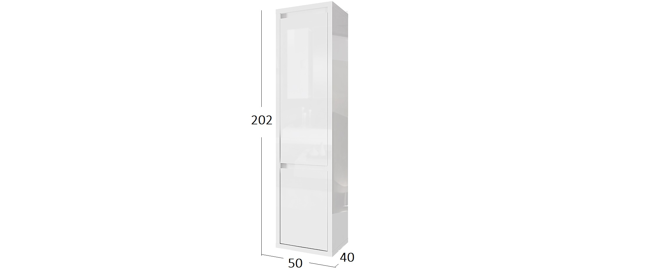 Шкаф-колонна Норден Модель 290
